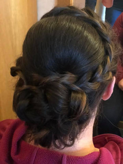 beautiful formal updo - bridal hair in E