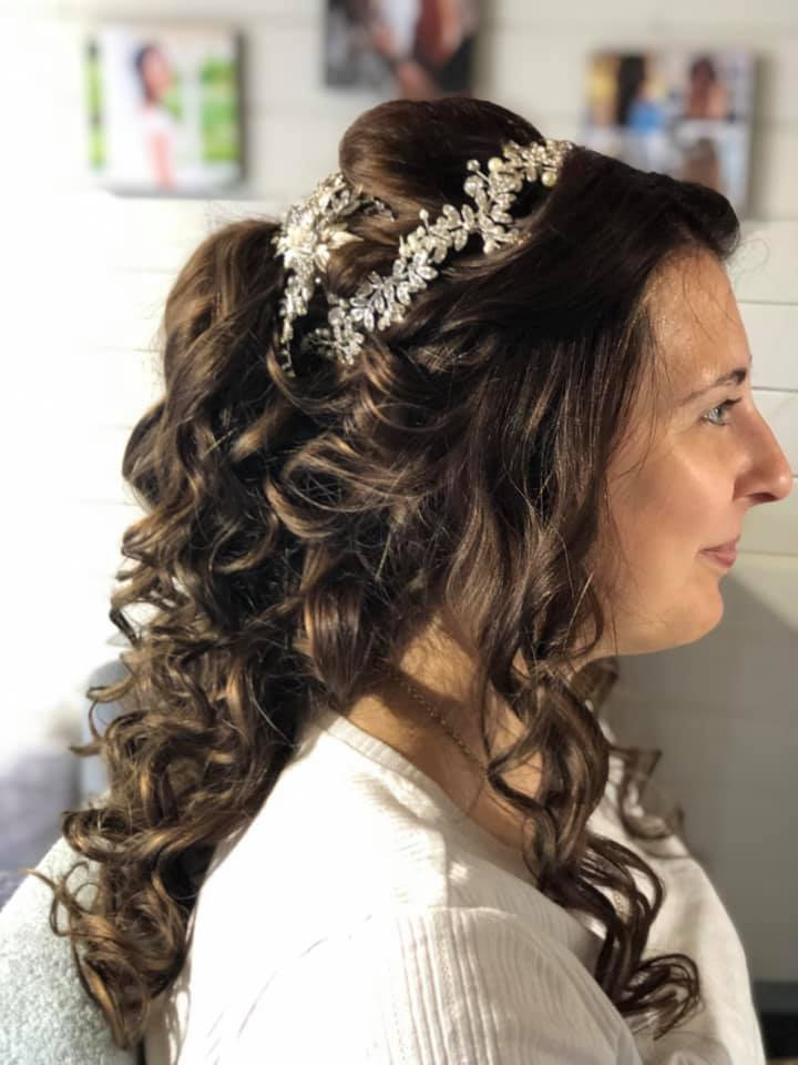 Pretty Wedding Hair in Essex and Suffolk