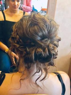 Gorgeous boho 'messy' updo - Wedding hai