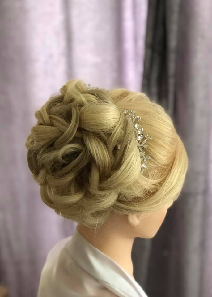 Gorgeous Volumous Bridal Bun