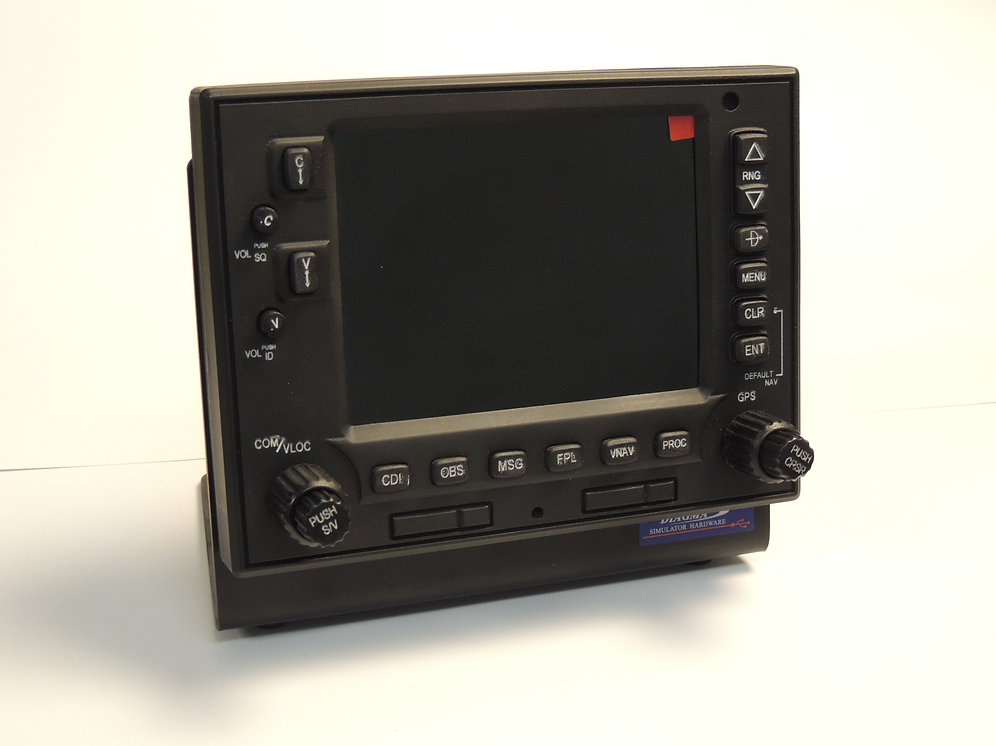 GPS GNS-530 with backlight and stand   Diagma FlightSims
