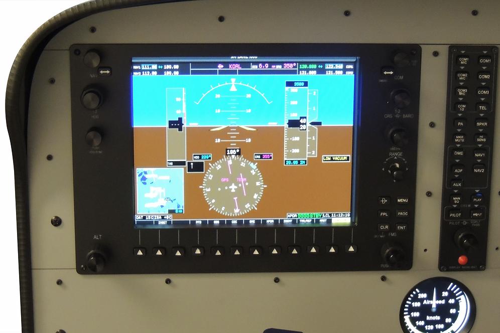 Flight Simulator Alpha set G-1000