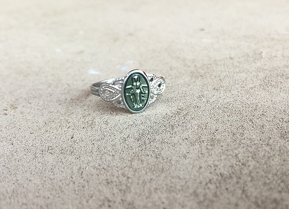 Adjustable Blessed Mother Ring