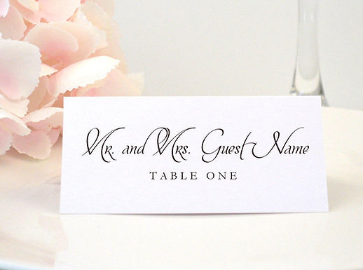 ASHLEY II Place Card (Set of 20)