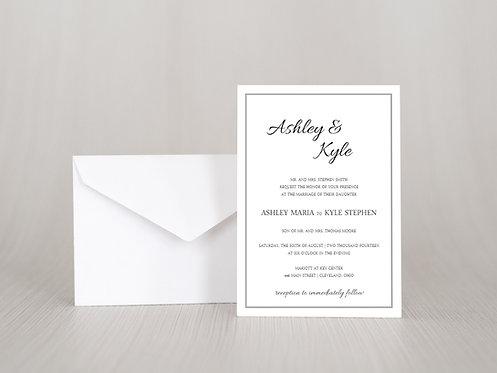 Ashley Wedding Invitation Set