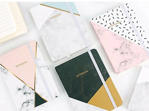 Mini Geometric Patterned Bound Pocketbook