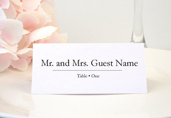 CELEBRATE Place Card | Set of 10