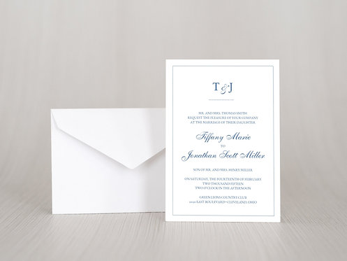 Dots Wedding Invitation Set
