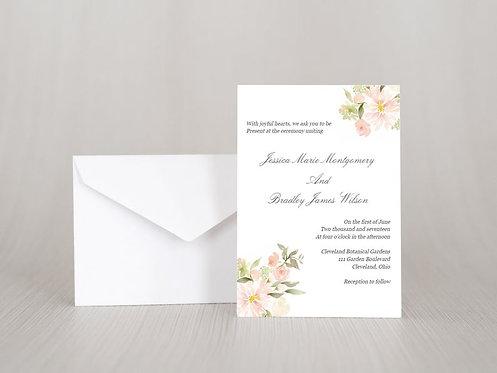 Botanical Garden Wedding Invitation Set