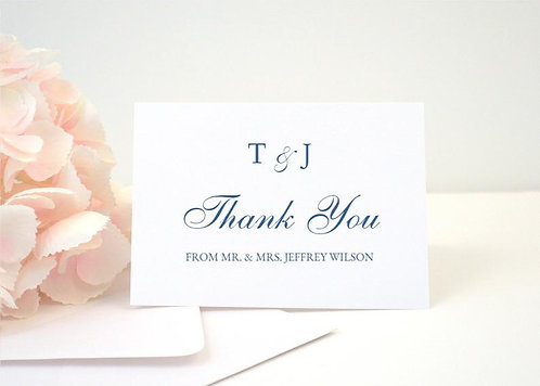DOTS Thank You Cards + Envelopes with Return Addressing | Set of 10