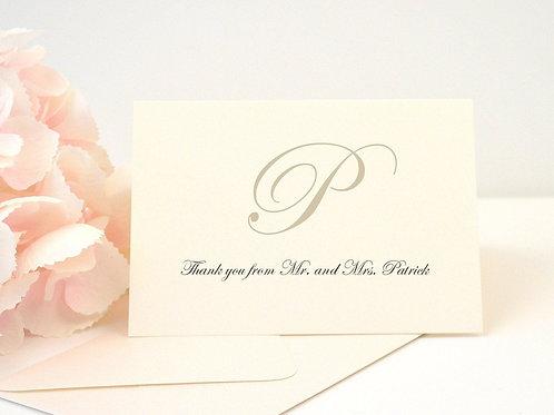 KATHERINE Thank You Cards & Envelopes (Set of 10)