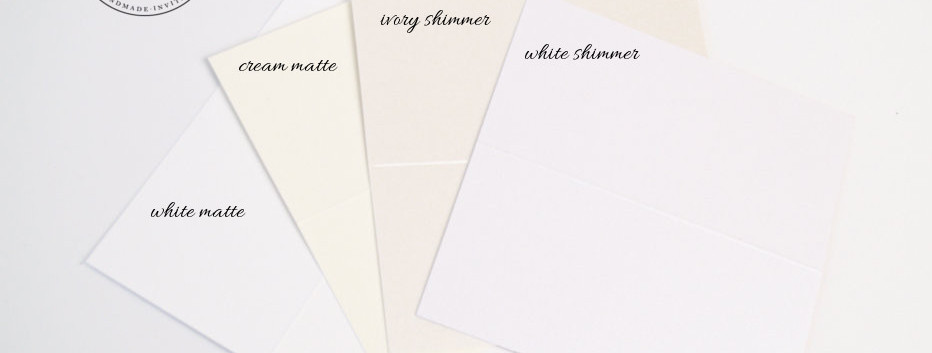 Cardstock Colors Choices