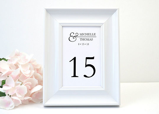 CELEBRATE Table Numbers