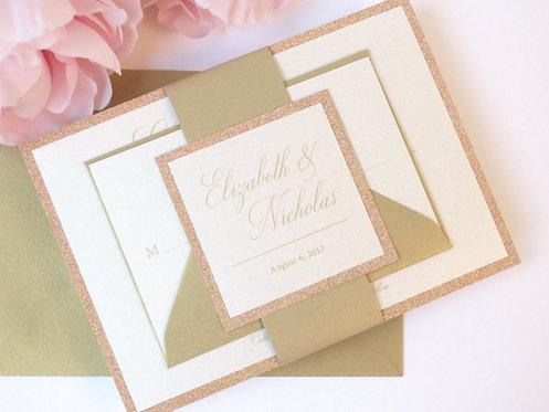 ELIZABETH Layered Invitation | Sample Kit