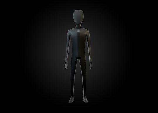 MODELO 3D: Hombre + Rig