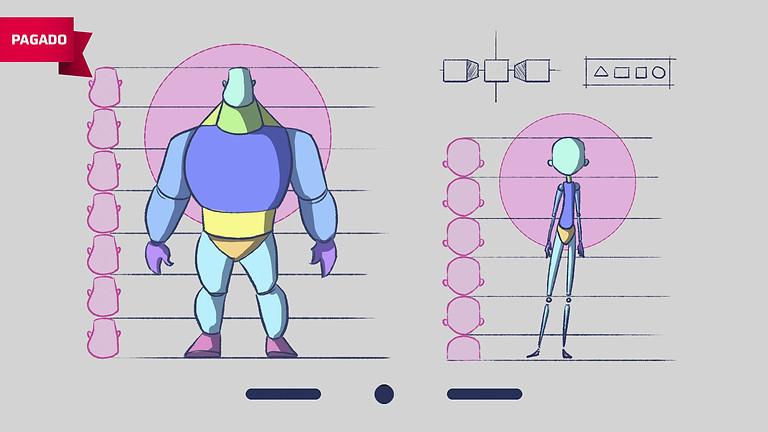 Dibujo para Animación: Proporciones