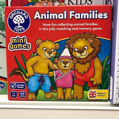 Animal Families Game by Orchard Toys on Localy.co.uk (GX1)