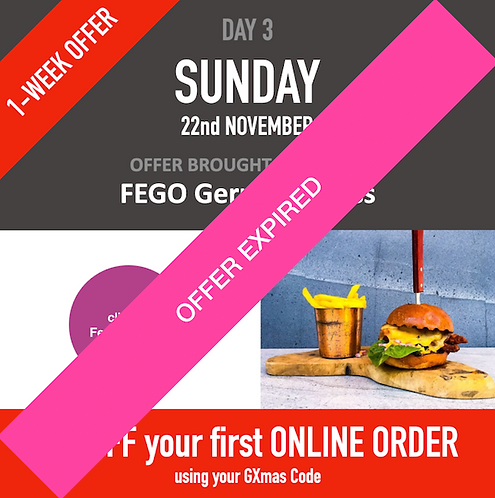 20% off your first Online Order at FEGO Gerrards Cross