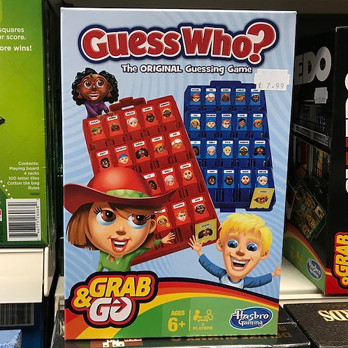 Guess Who? Grab and Go Game by Hasbro on Localy.co.uk (GX1)
