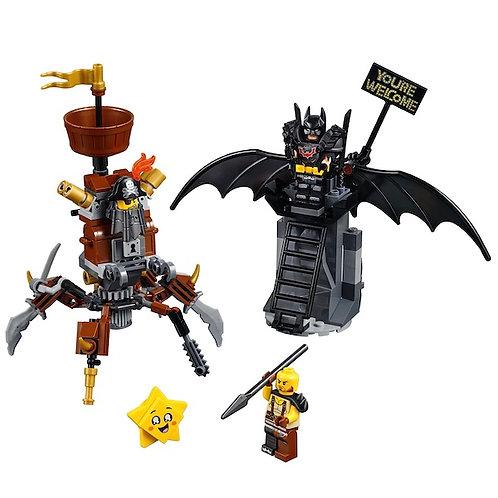 LEGO 70836 Movie 2 Battle-Ready Batman and MetalBeard (GX1)