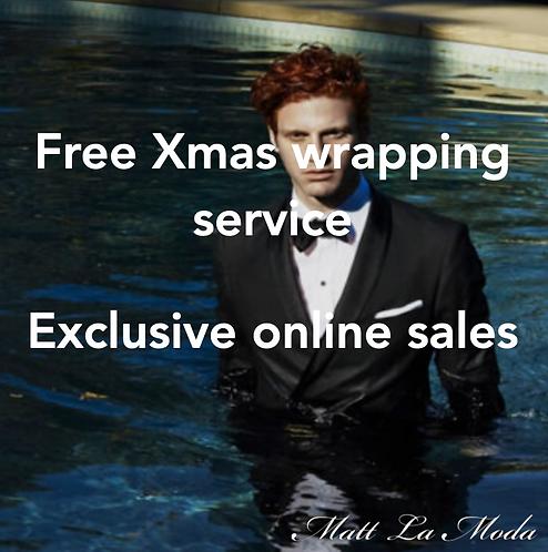 Matt La Moda Menswear - Free Christmas Wrapping Service & Exclusive Online Sales