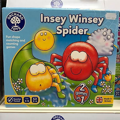 Insey Winsey Spider Game by Orchard Toys on Localy.co.uk (GX1)