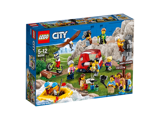 LEGO 60202 City Town People Pack - Outdoor Adventures (GX1)