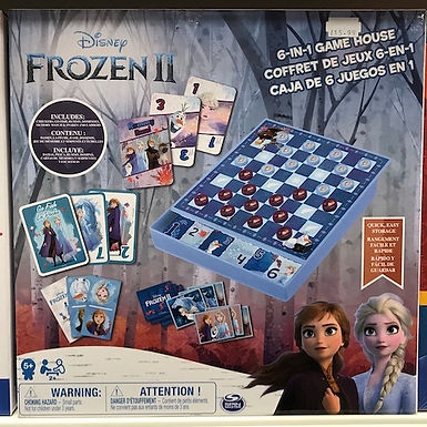 Disney Frozen 2   6-in-1 Game by Spinmaster on Localy.co.uk (GX1)
