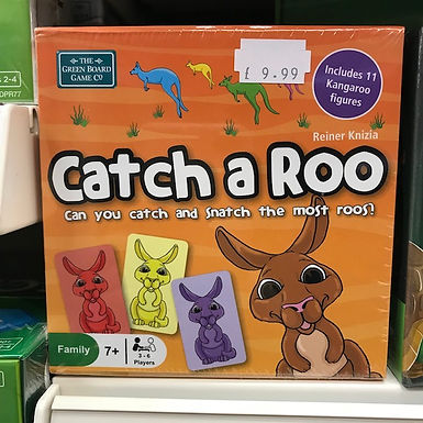 Catch a Roo Game (Green Board Game) on Localy.co.uk (GX1)