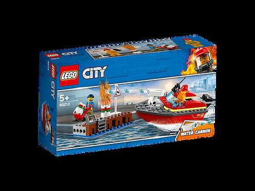 LEGO 60213 City Fire Dock Side Fire (GX1)