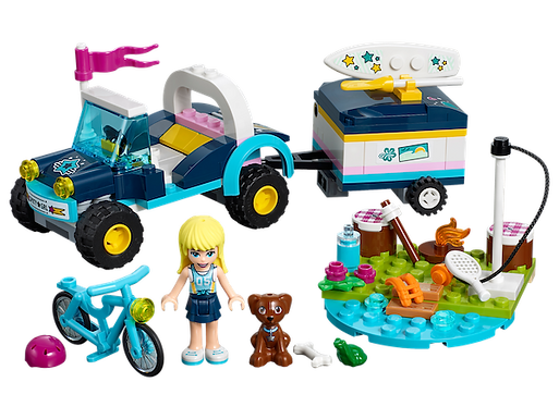 LEGO 41364 Friends Stephanie's Buggy & Trailer (GX1)
