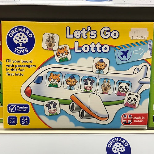 Let's Go Lotto by Orchard Toys on Localy.co.uk (GX1)