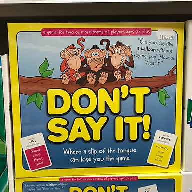 Don't Say It (Paul Lamond Games) on Localy.co.uk (GX1)