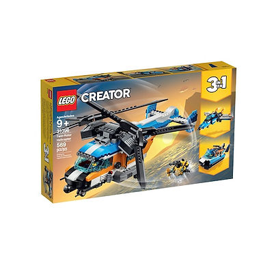 LEGO 31096 Creator Twin-Rotor Helicopter (GX1)