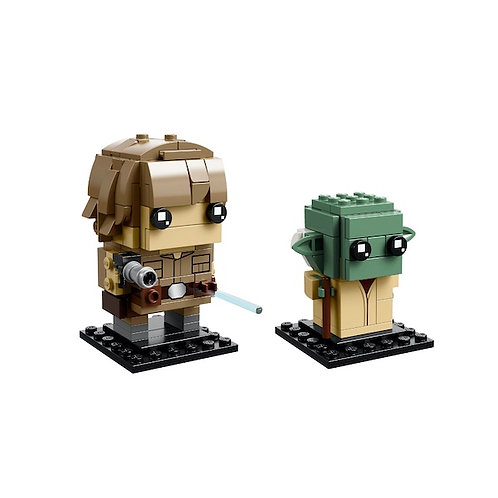LEGO 41627 Brickheadz Star Wars Luke Skywalker & Yoda - HARD TO FIND (GX1)
