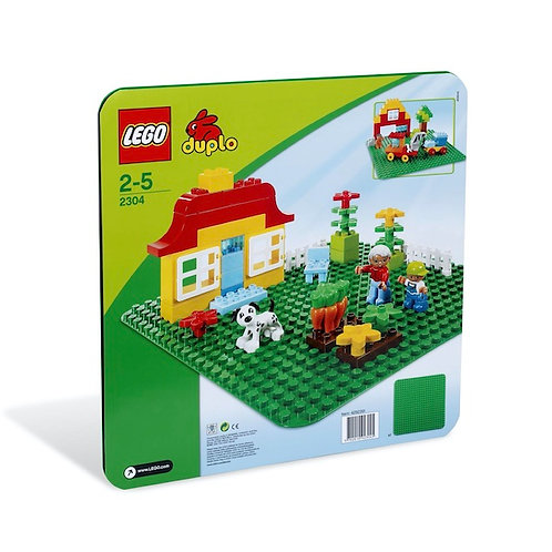 Lego DUPLO 2304 My First LEGO DUPLO Large Green Building Plate (GX1)