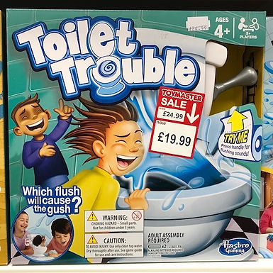 Toilet Trouble Game (Hasbro Gaming) on Localy.co.uk (GX1)