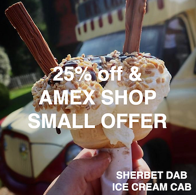 Sherbet Dab The Ice Cream Cab - 25% off