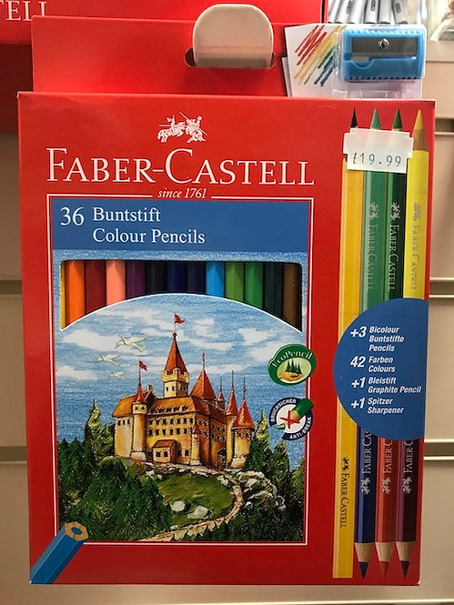 Faber-Castell 36 Colour Pencils (GX1)