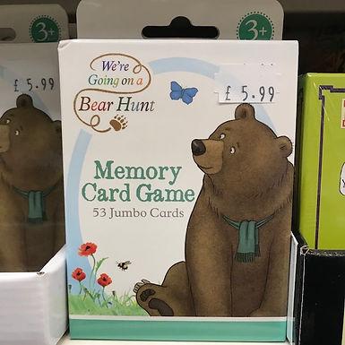 Memory Card Game - Bear Hunt (Paul Lamond Games) on Localy.co.uk (GX1)