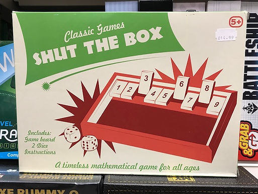 Classic Games Shut the Box on Localy.co.uk (GX1)