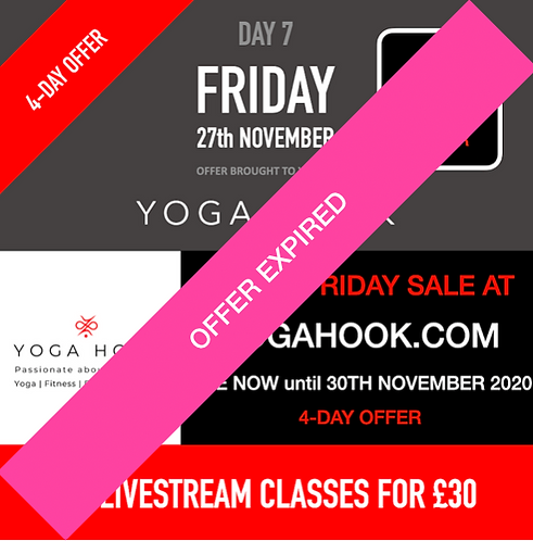 Yoga Hook 4-Day Black Friday Weekend Offer