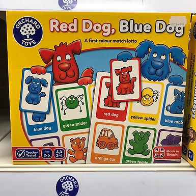 Red Dog, Blue Dog Game by Orchard Toys on Localy.co.uk