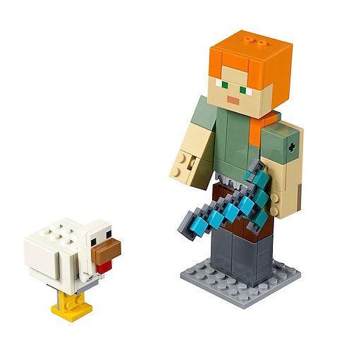 LEGO 21149 Minecraft Minecraft Alex BigFig with Chicken (GX1)