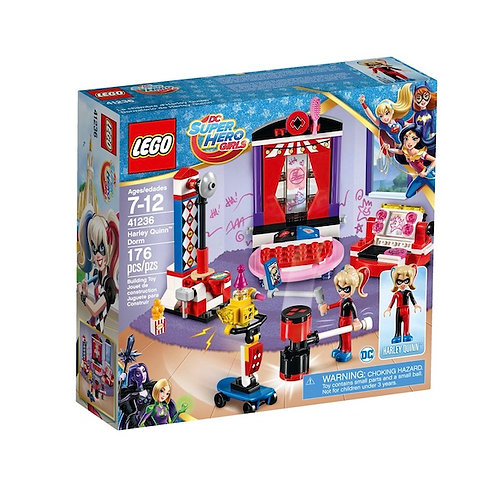 LEGO 41236 DC Super Hero Girls Harley Quinn Dorm - HARD TO FIND (GX1)