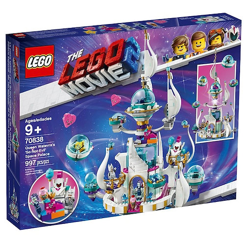 LEGO 70838 Movie 2 Queen Watevras So-Not-Evil Space Palace (GX1)