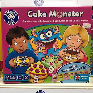 Cake Monster by Orchard Toys on Localy.co.uk