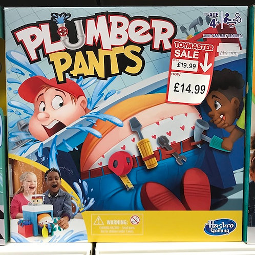 Plumber Pants Game (Hasbro Gaming) on Localy.co.uk (GX1)