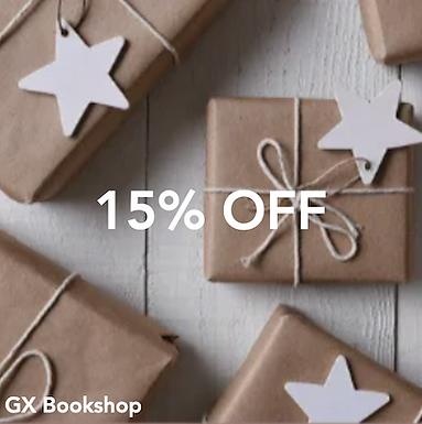 GX Bookshop - 15% off all items*