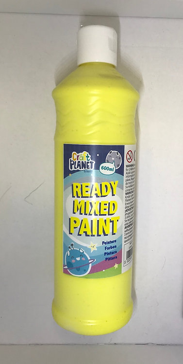 Ready Mix Paint 600ml Lemon Yellow (GX1)